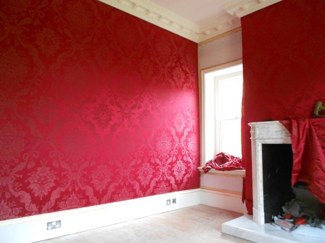 Fabric Walling Damask
