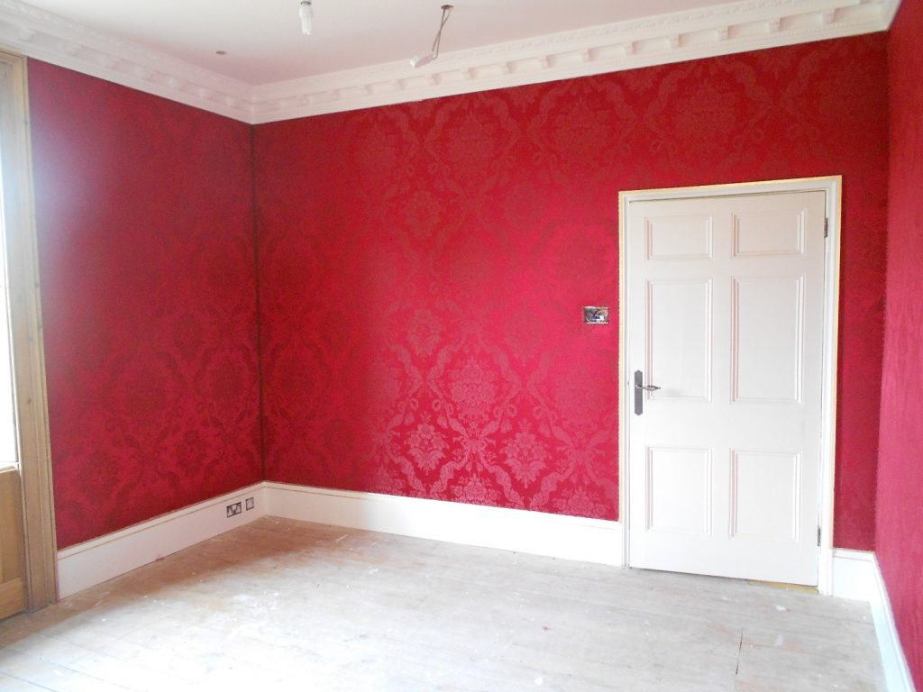 Worcestershire Manor House - fabric walling