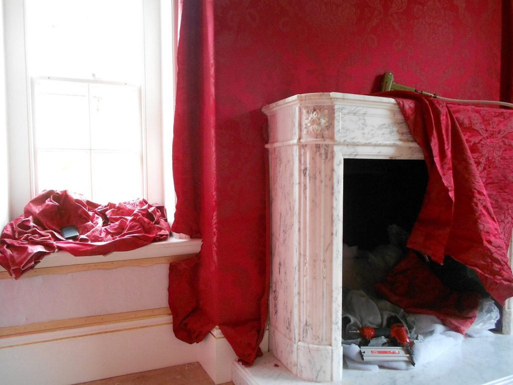Fabric Walling in heritage property