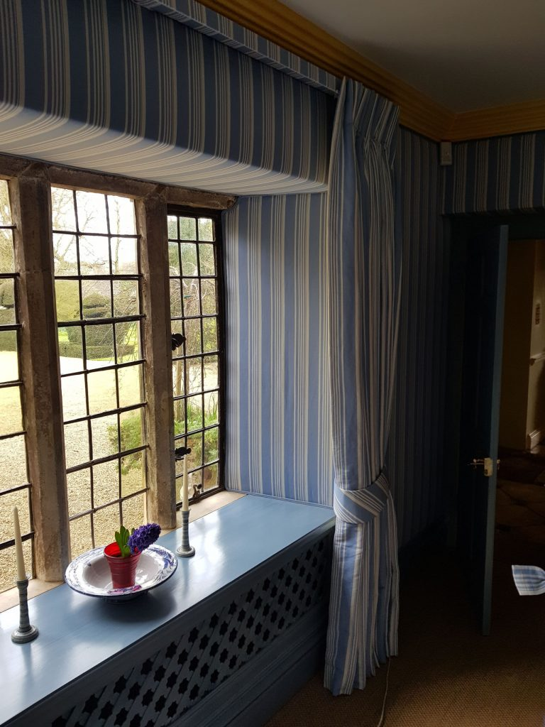 Oxfordshire Manor House - fabric walling